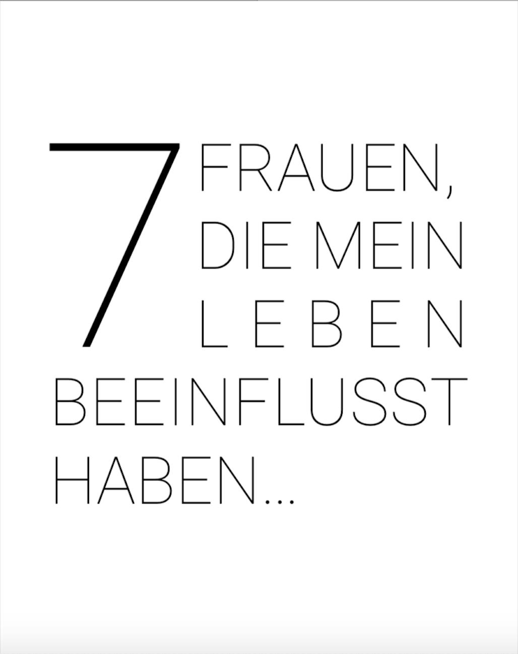 7 Frauen